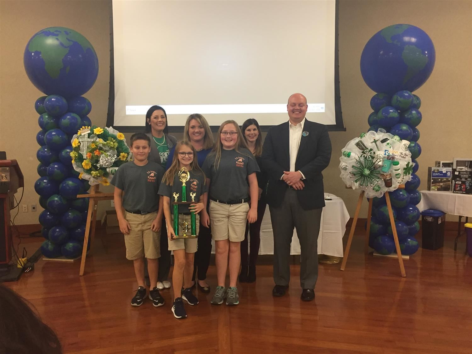 Arnett wins First Place in Team Green Clean Campus Contest