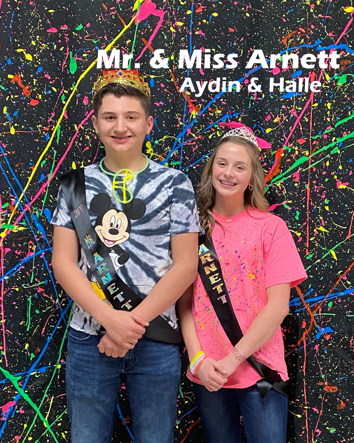 2019-2020 Mr. and Miss Arnett