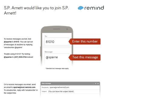 instructions for remind 101
