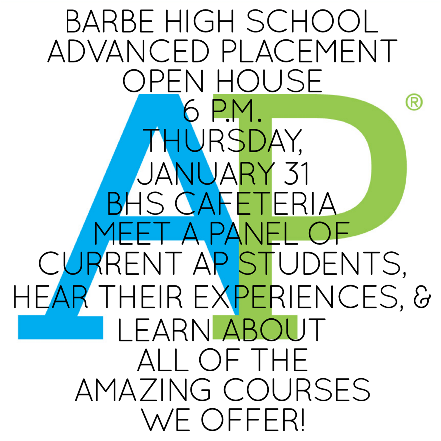 AP Open House