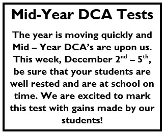 Mid-Year DCA's