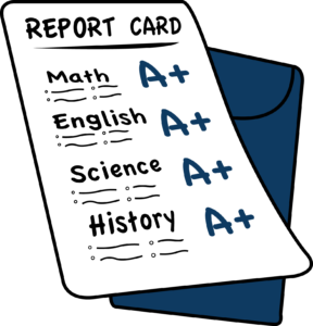 Report Cards Go Home