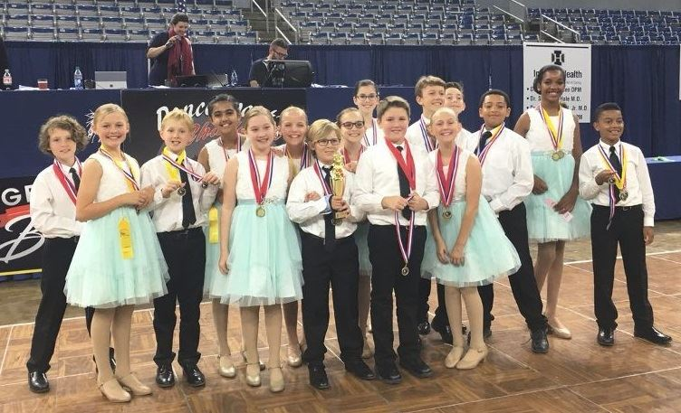 T.S. Cooley 5th Grade Dance Team Brings Home the Gold
