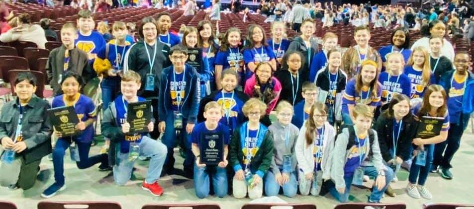 T.S. Cooley 5th Grade BETA Members Shine at State Convention - Qualify for Nationals