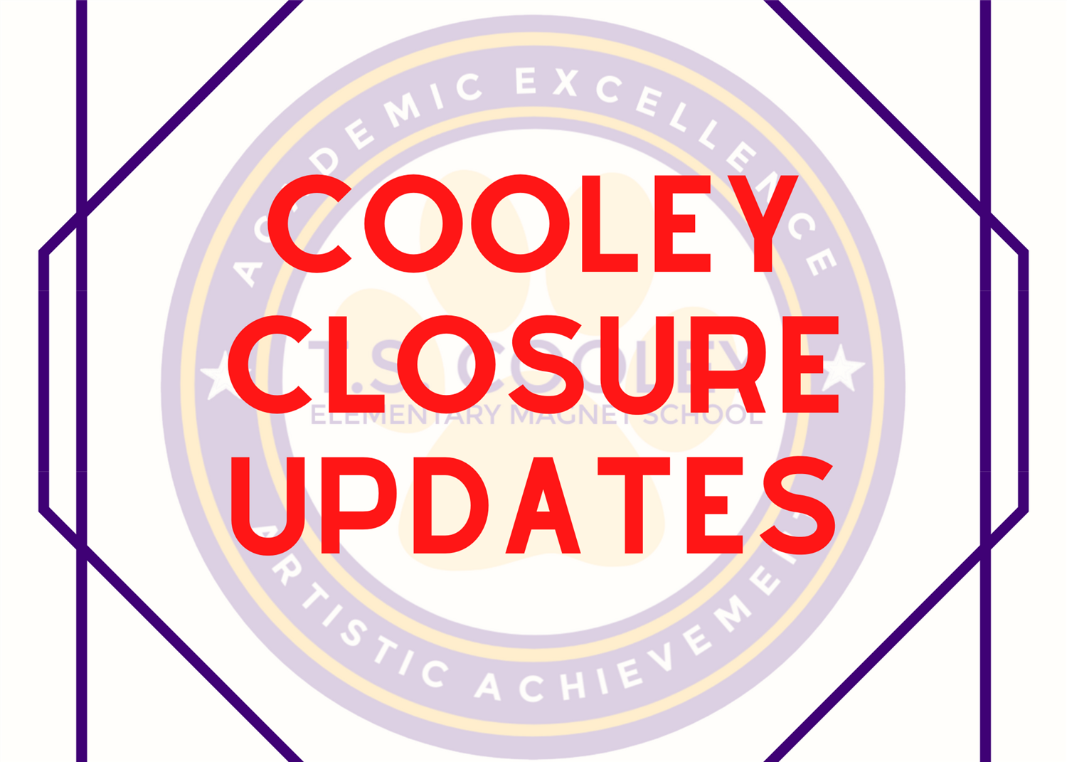 COOLEY CLOSURE UPDATES
