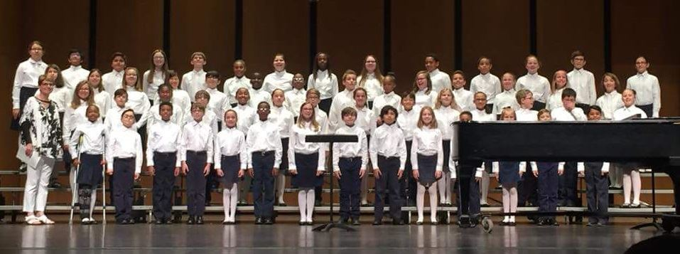 T.S. Cooley 4th and 5th Grade Choir Earns Sweepstakes