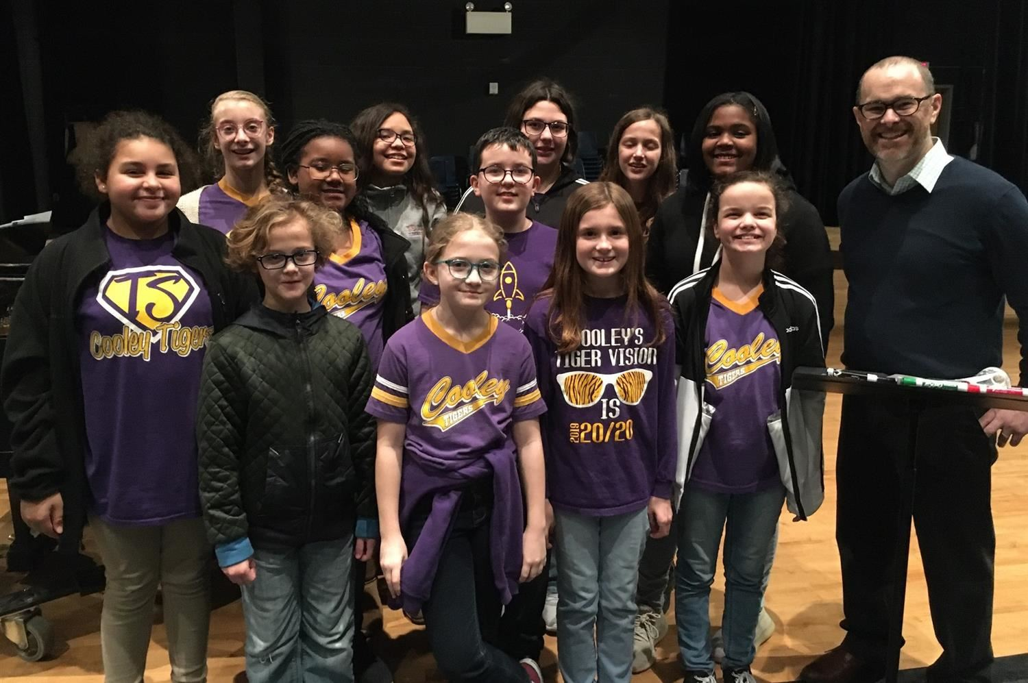 District Honor Choir Performs at McNeese Bulber Auditorium