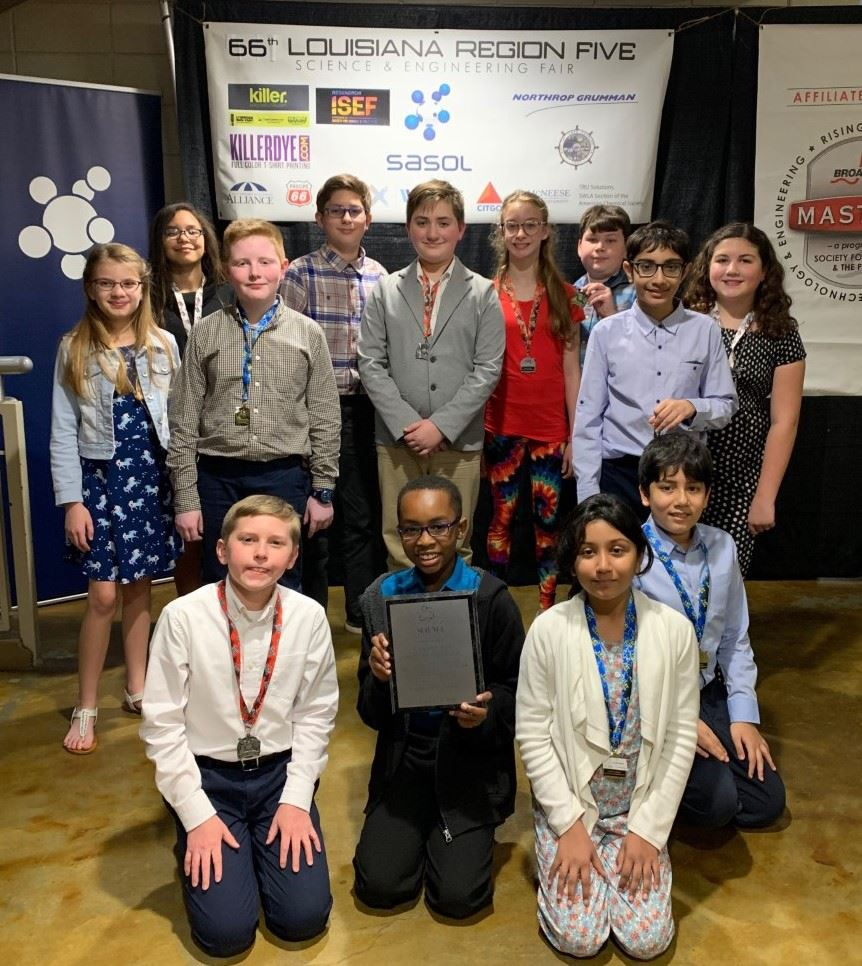 T.S. Cooley Receives Best Elementary School Award at Region V Science Fair
