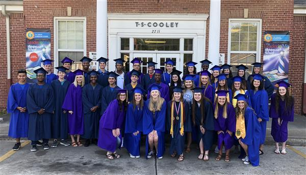 36 T.S. Cooley Alumni Graduating Seniors Visit and Share Their Memories