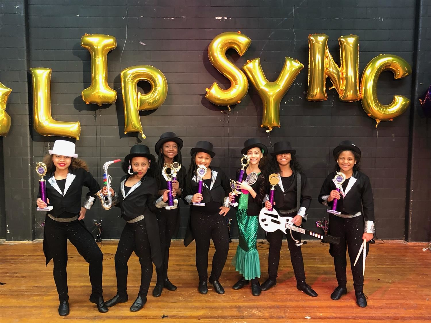 T.S. Cooley Lip Sync Winners