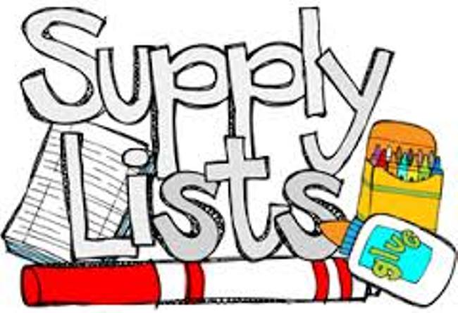 T.S. Cooley School Supply Lists