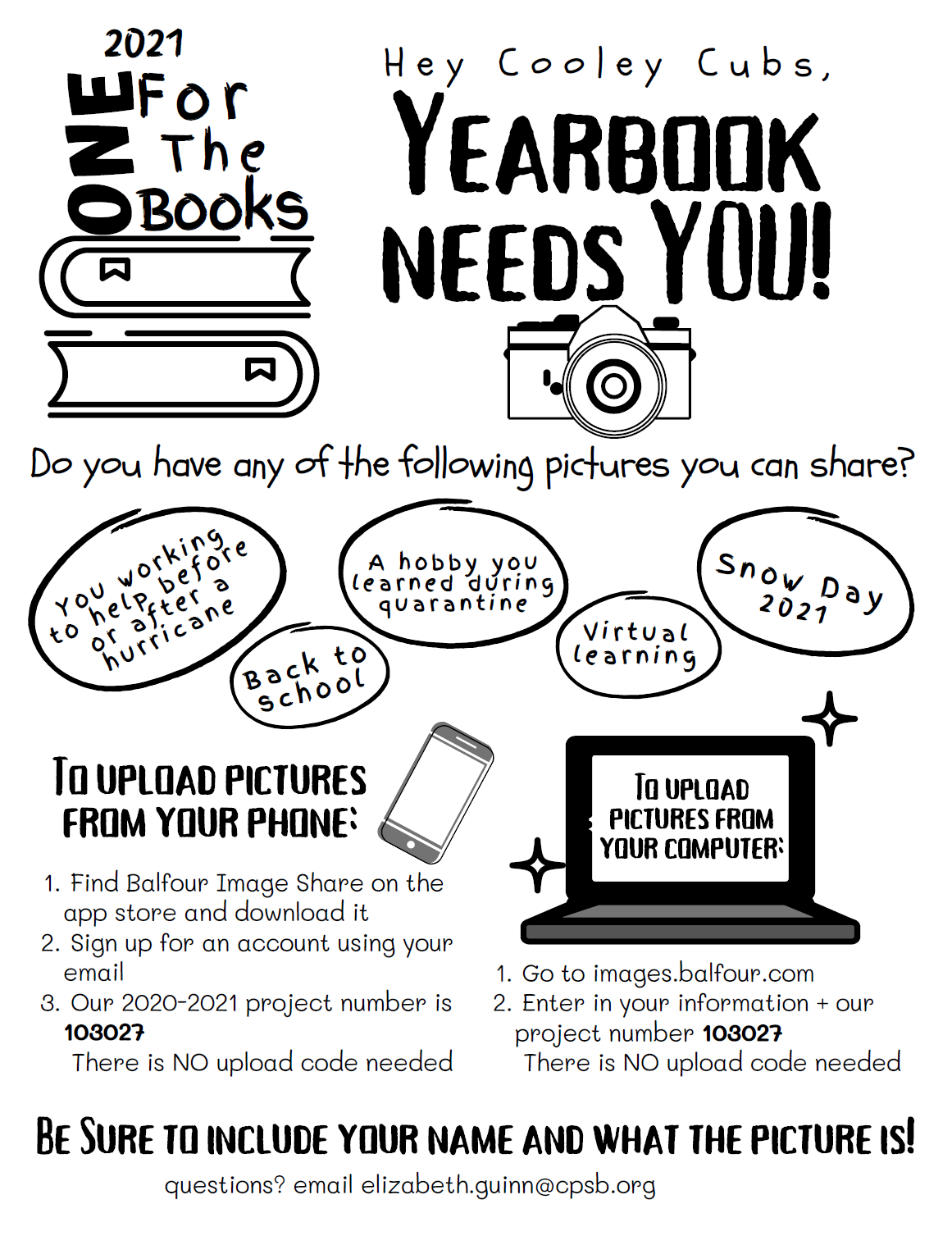 Yearbook Needs Your Photos Now