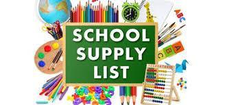 T.S. Cooley 2019-2020 School Supply Information