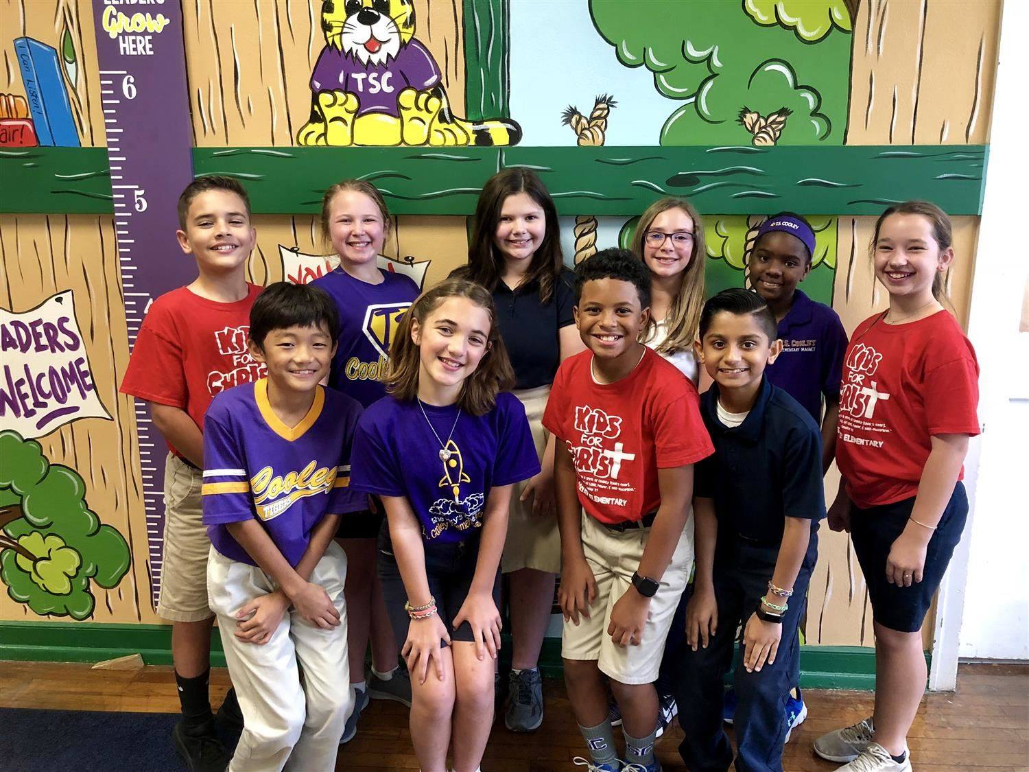 T. S. Cooley Student of the Year Nominees