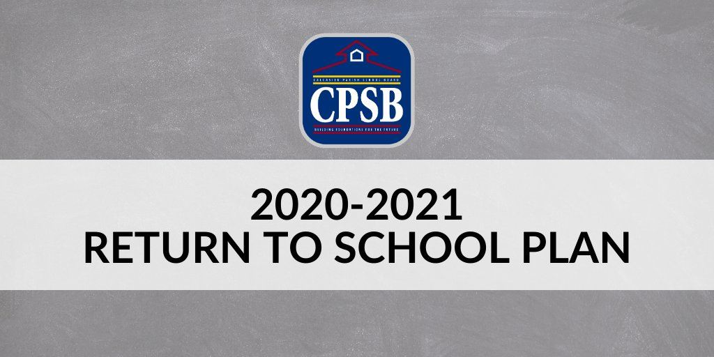 CPSB Return to School Plan