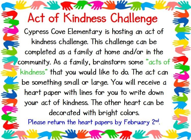 Act of Kindness Challenge 2021
