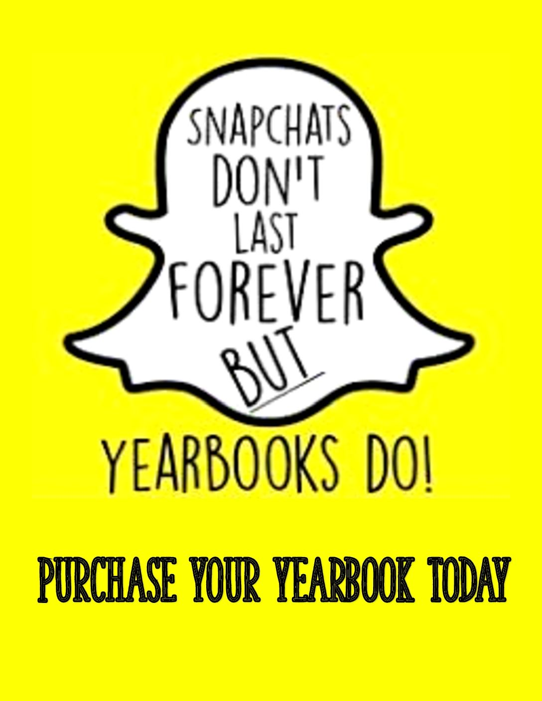 YEARBOOK SALES - THIS YEAR IS ONE FOR THE BOOKS!!!!