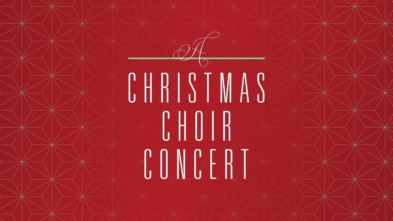 Christmas Choir Concert - Watch the concert here