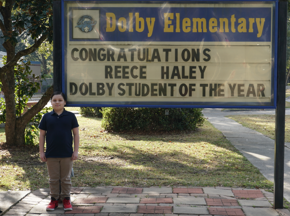Dolby 2019-2020 Student of the Year!
