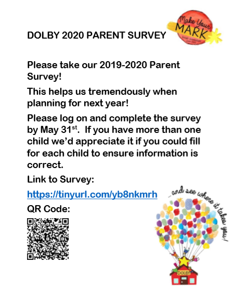 2020 Parent Survey