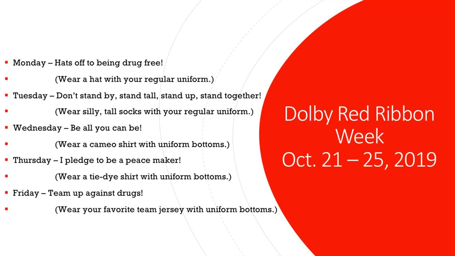 Dolby Red Ribbon Week