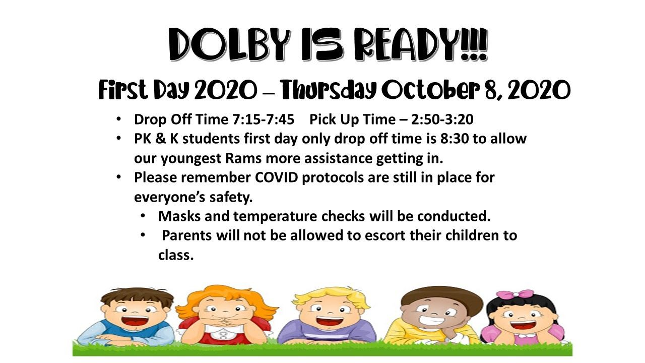 Welcome Back Dolby RAMS!