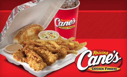 Thank You Raising Cane's!