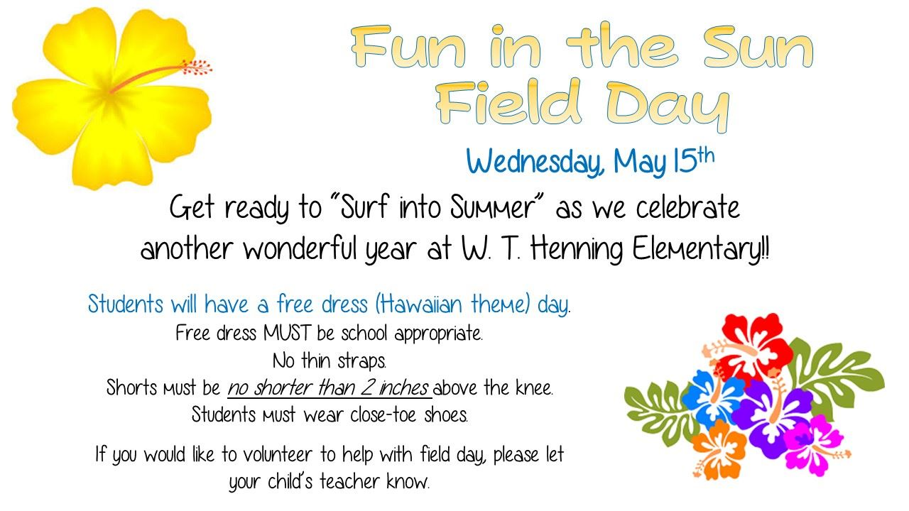 End of the Year Field Day