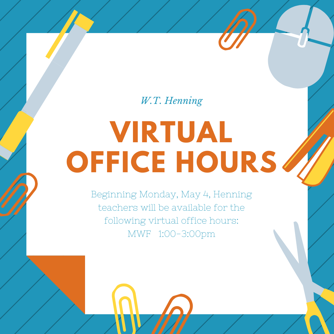 Henning Virtual Office Hours