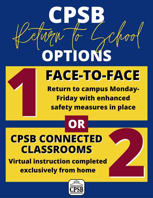 2020-2021 CPSB School Options