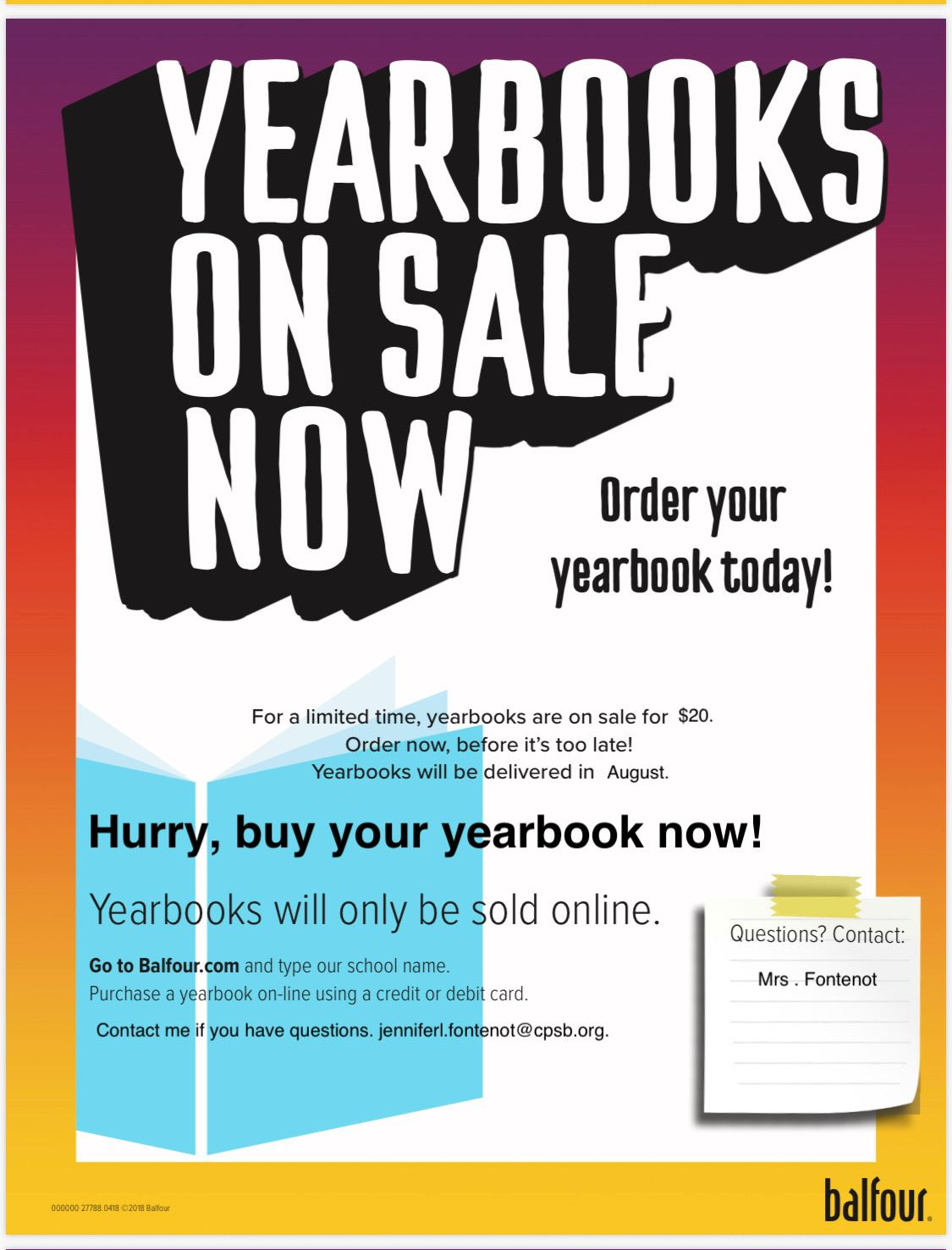 Yearbooks- click for more info
