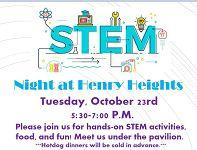 STEM Night at Henry Heights