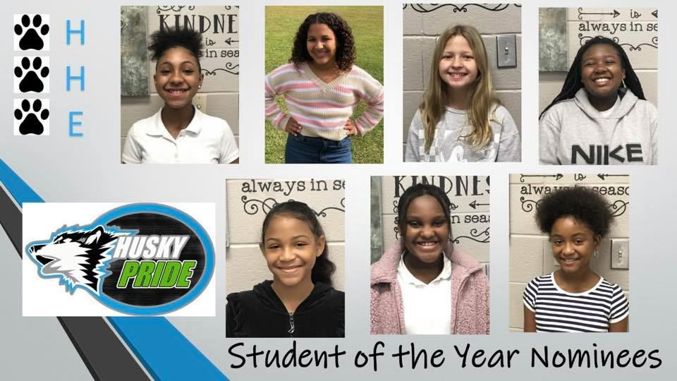 Congratulations to our Student of the Year Nominees for 2021!