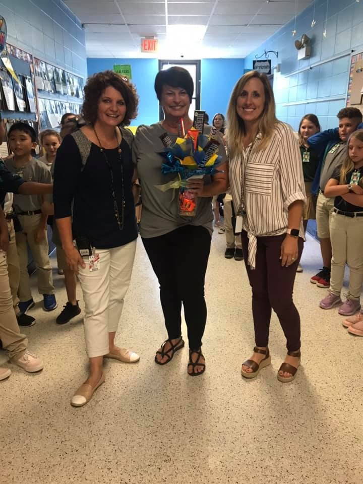 Renee Herbstler is our Teacher of the Year