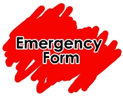Completed Emergency Cards due Friday, August 17