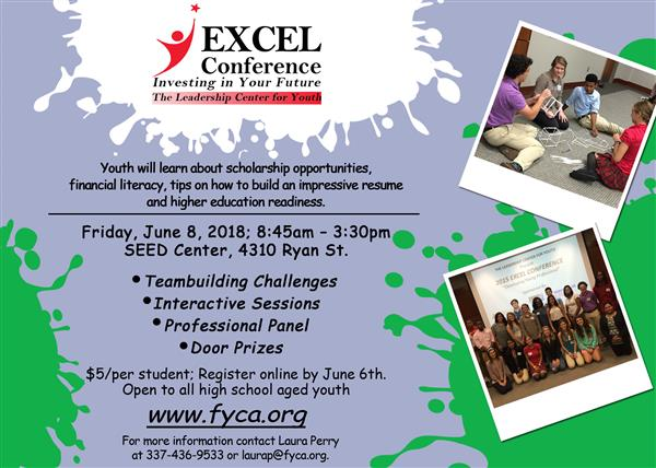 EXCEL CONFERENCE: Investing in your future!