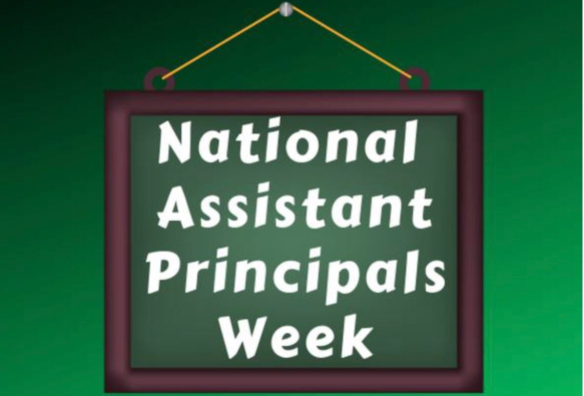 Thank you Assistant Principals and Deans