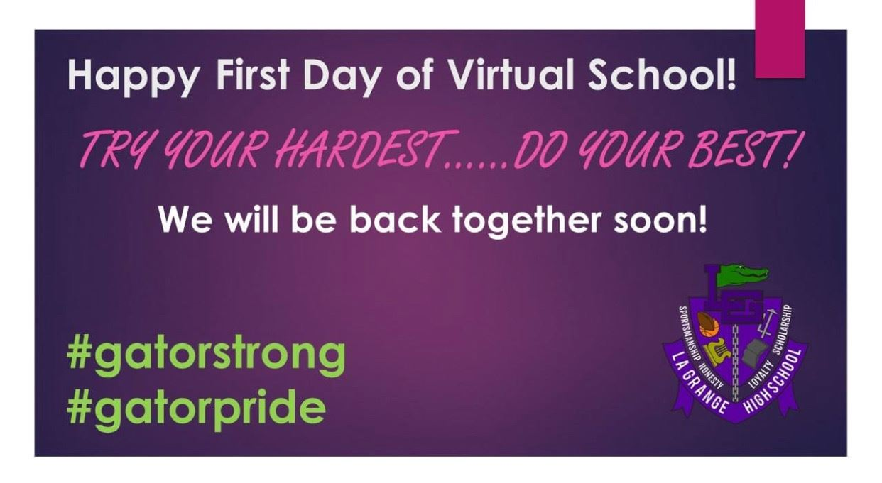 School Virtual First Day