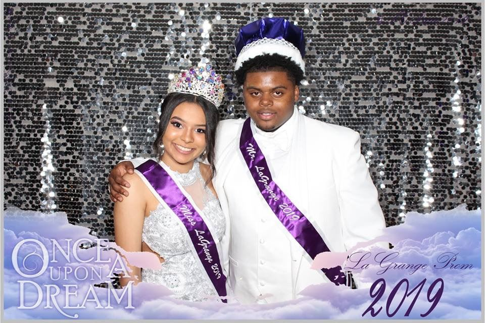 Congratulations Mr. and Miss LaGrange