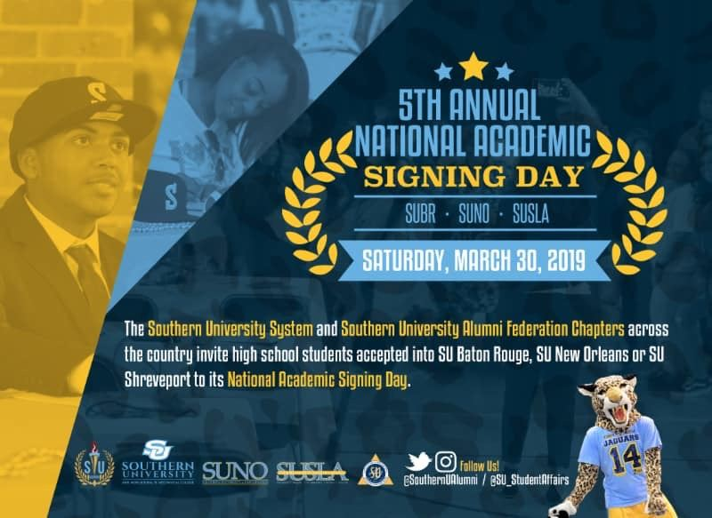 Southern University and A&M College Academic Signing Day