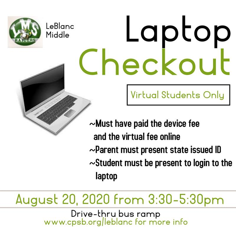 Laptop Loaner Pickup