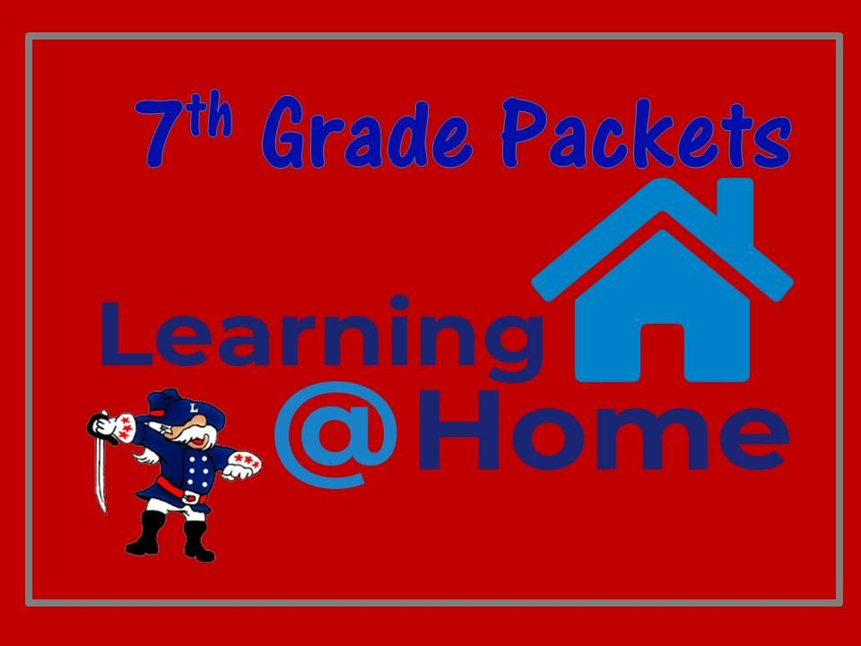 7th Grade Home Learning Packets