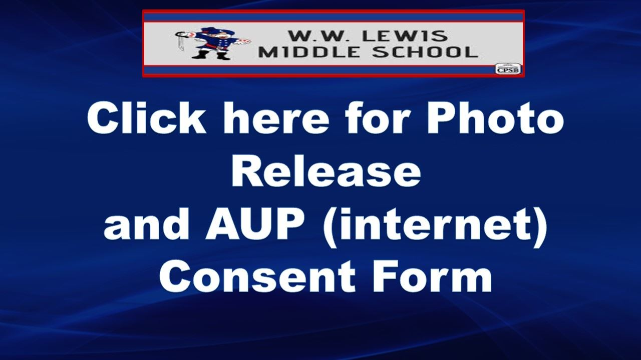 AUP and Photo Release