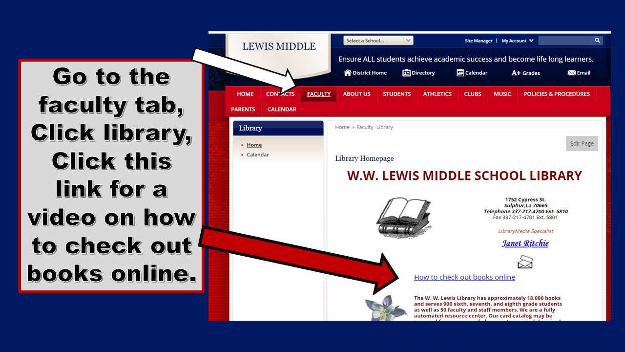 How to check out library books online.
