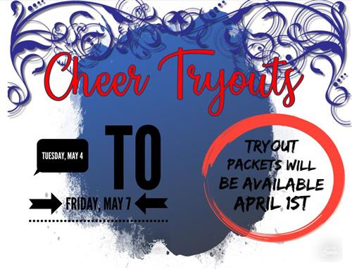 Cheer tryouts.  Click for larger image