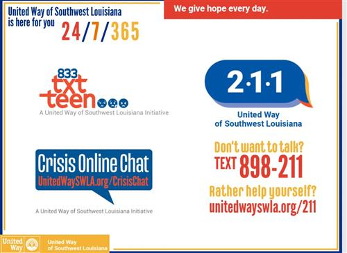 United Way Helplines