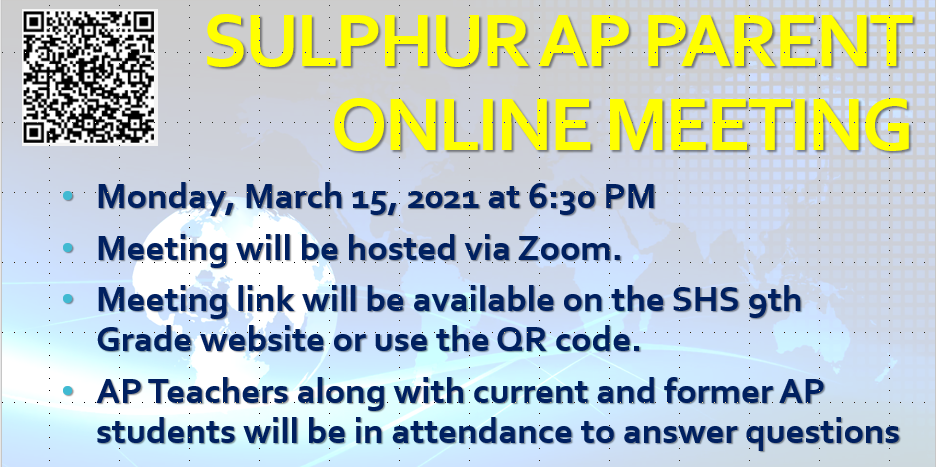 Click here for more info on AP classes at SHS