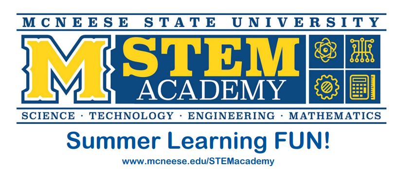 McNeese STEM Academy - Click Read Full Story for more information on this STEM program!