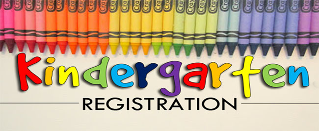 Kindergarten registration: 2/21 – 3/8 from 8:30 to 11:30 daily.