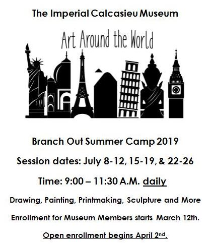 ART CAMP -  Click Read Full Story for registration forms